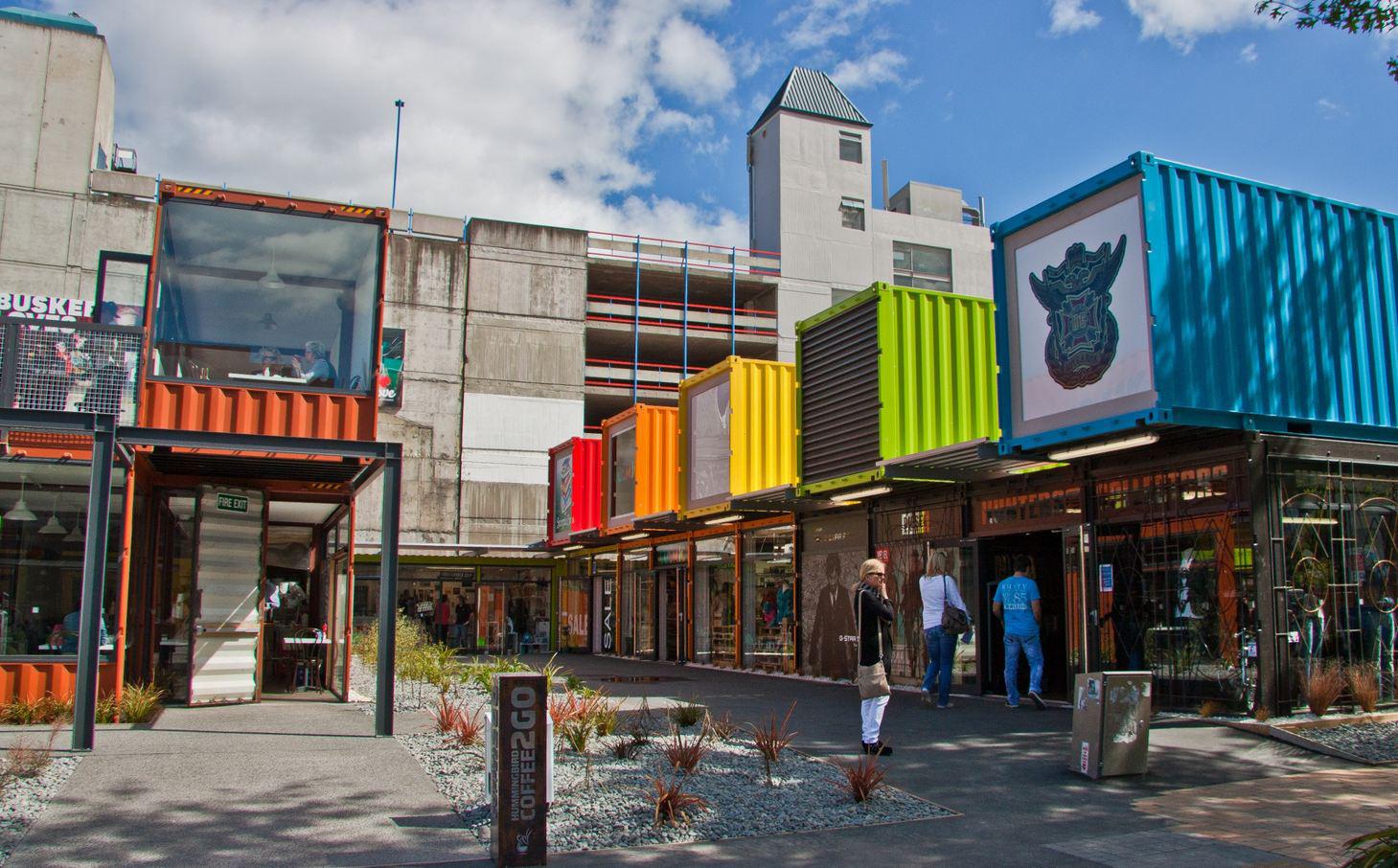 Arrival Place stedelijk containerdorp