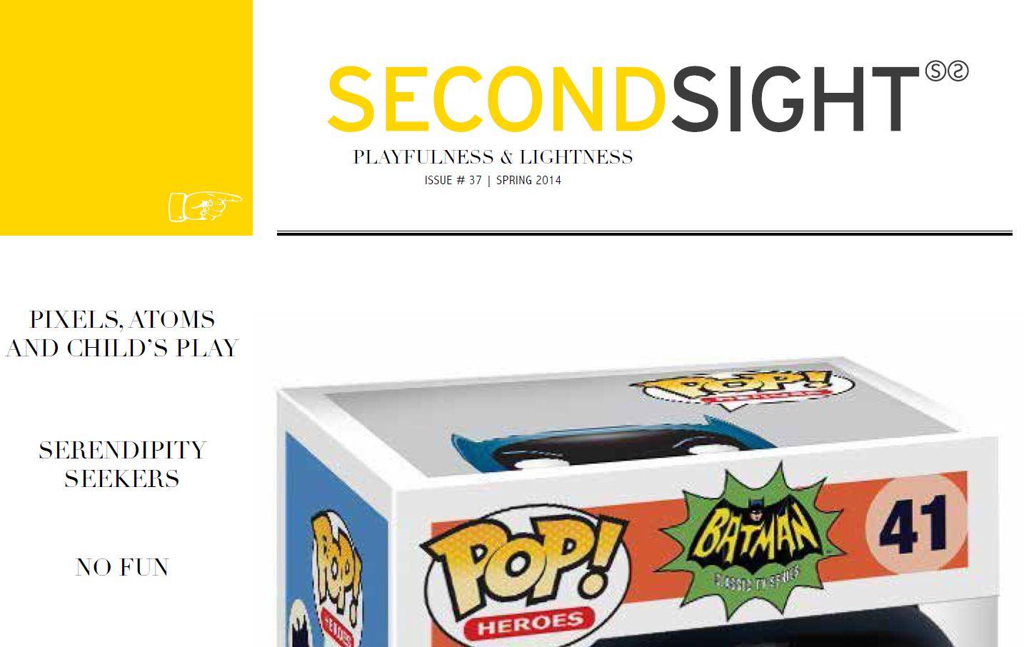 Artikel in het trendmagazine Second Sight